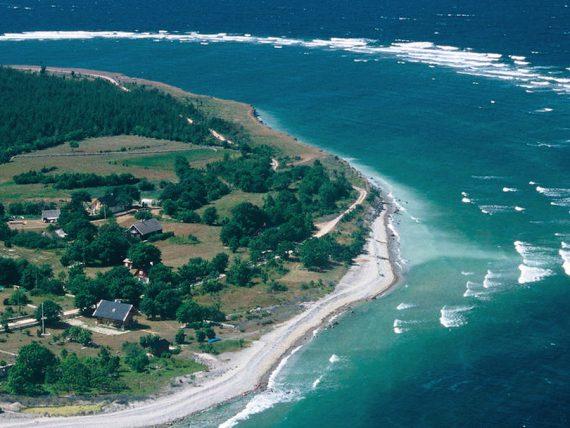 Saaremaa island Estonia northern eastern europe beautiful scenery sea